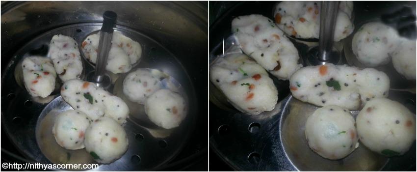 Kara Pidi Kozhukattai Recipe,Uppu Kozhukattai