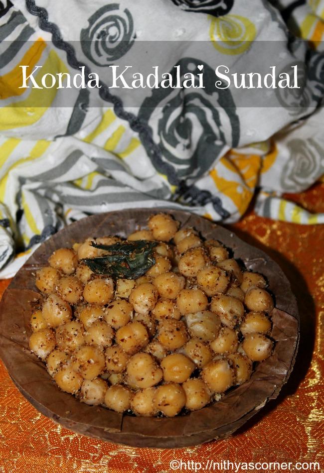 Kondakadalai Sundal Recipe with pictures