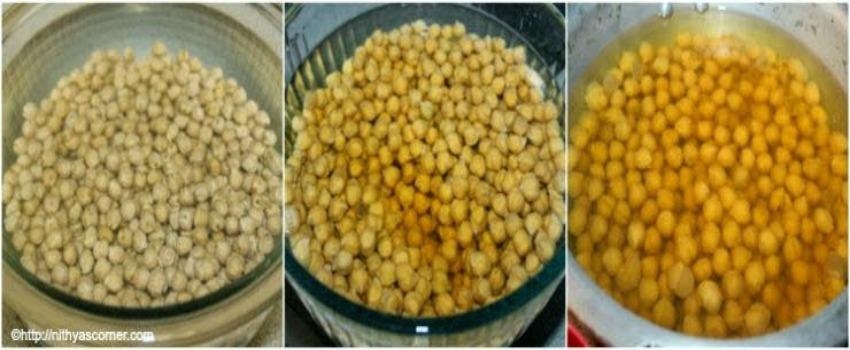 how to make chickpeas sundal