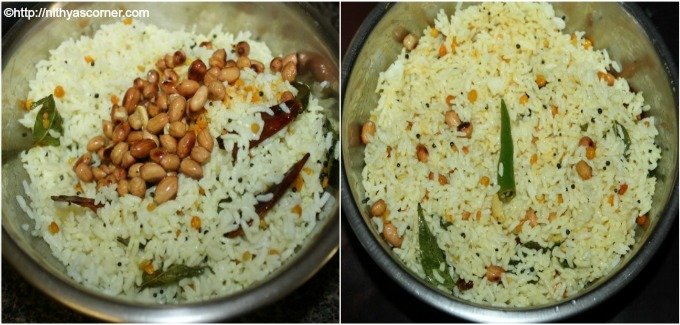 Lime rice with stepwise pictures