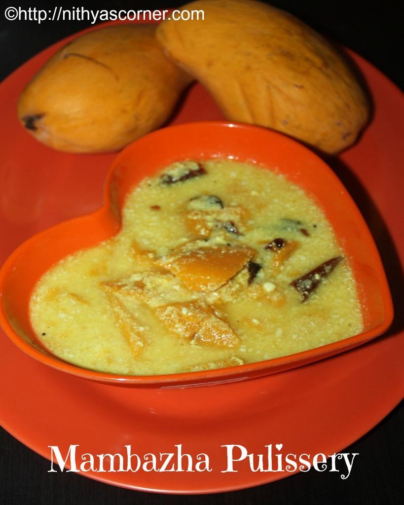 Mambazha Pulissery Recipe,Mambazha Kalan Recipe