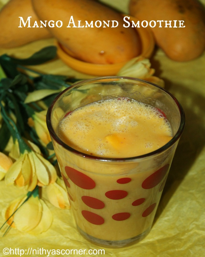 Mango Almond Smoothie