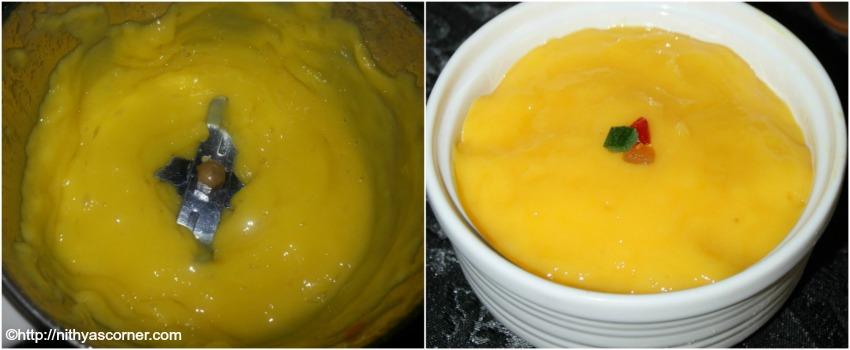 Mango Cream Recipe, Mango Cream Dessert
