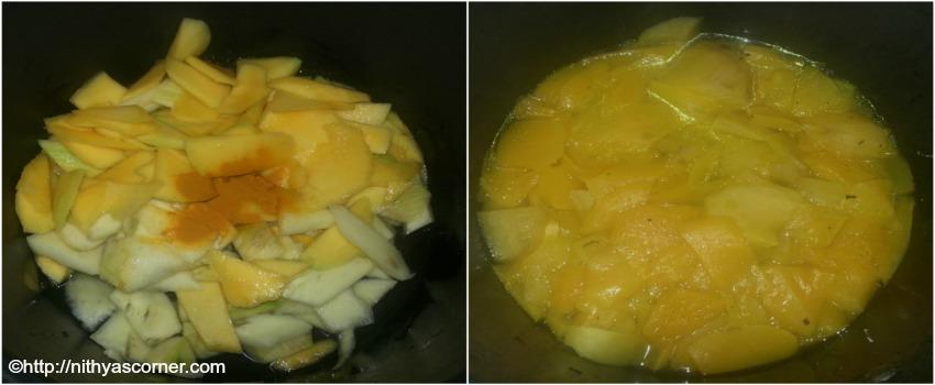mango pachadi kerala