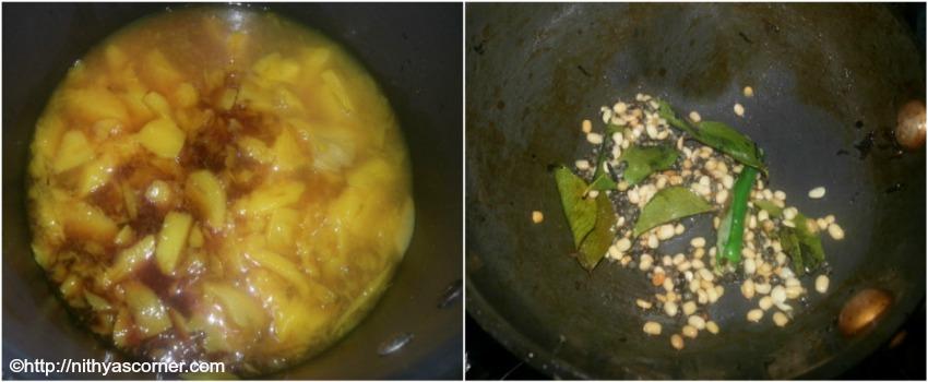 Mango Pachadi Recipe,How To Make Mangai Pachadi