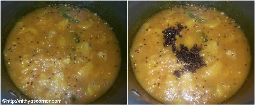 Mango Sweet Pachadi Recipe