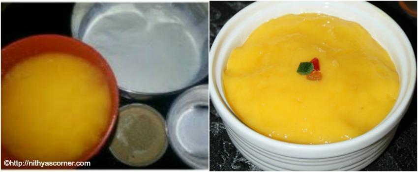 Amrakhand recipe-How to make mango shrikhand