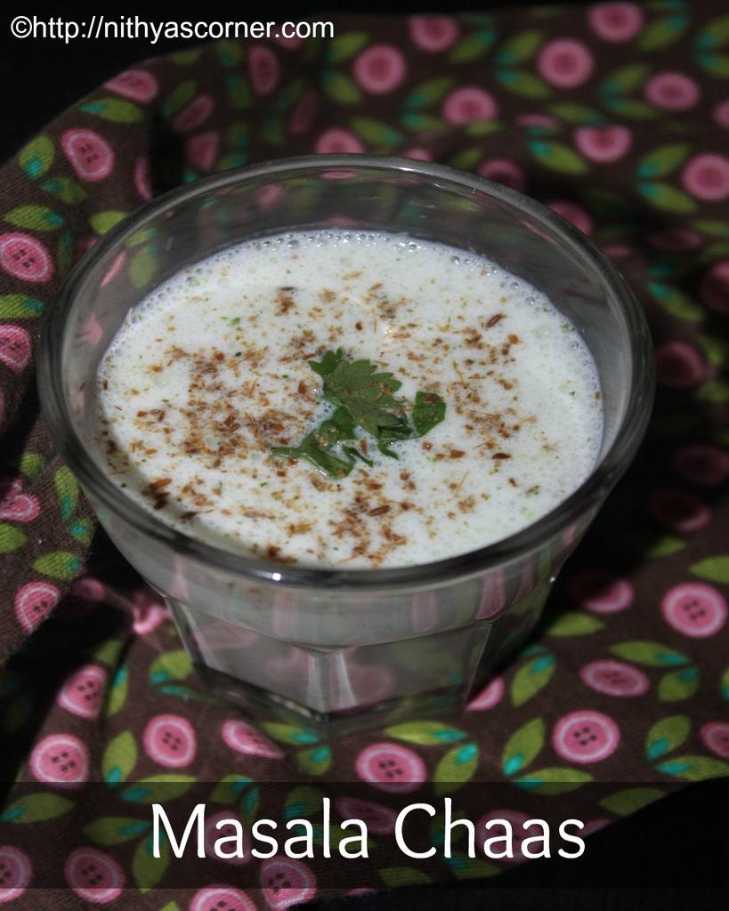 Masala Chaas Recipe, Salted Chaas Recipe
