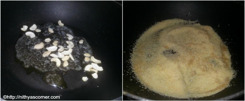 Milk Kesari Recipe, Milk Rava Kesari Recipe