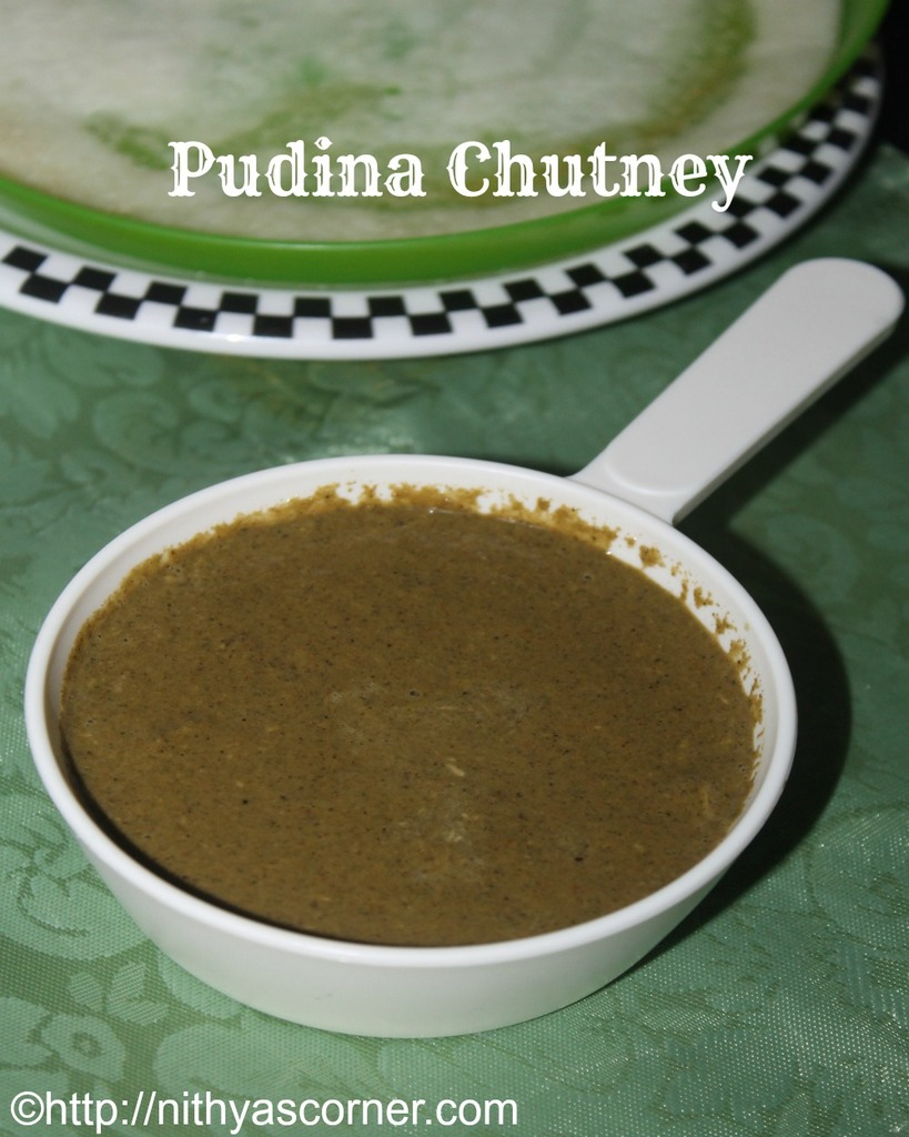 how to make mint chutney