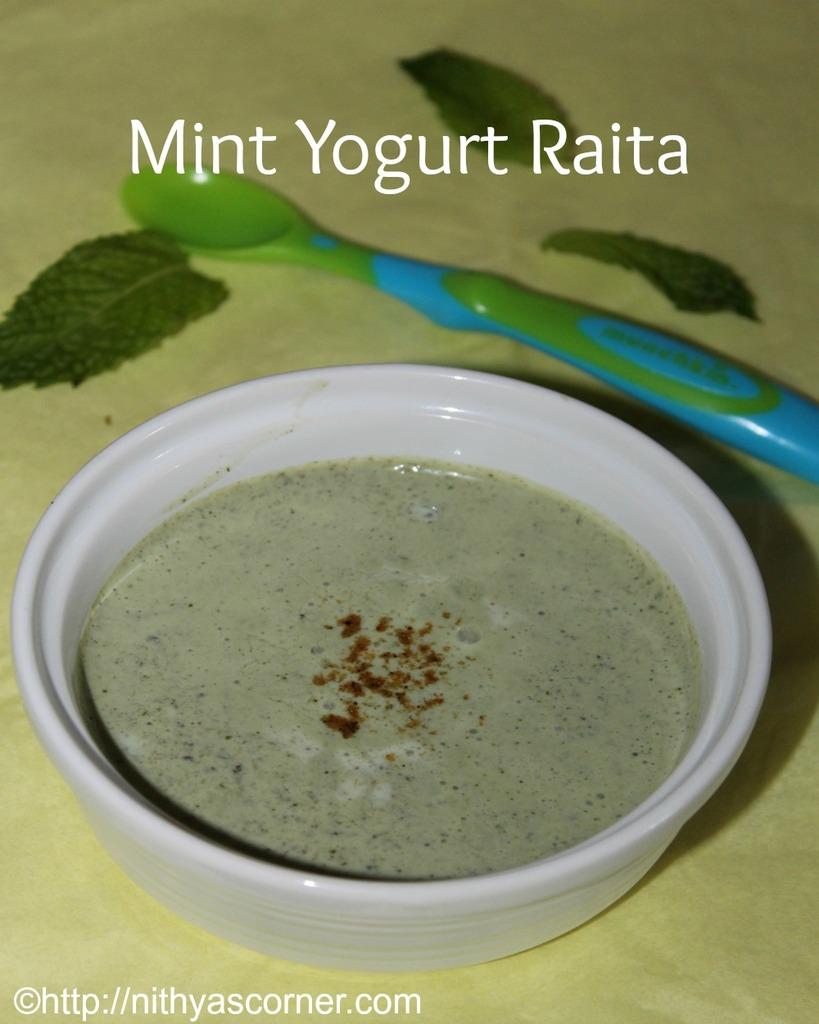how do you make mint raita