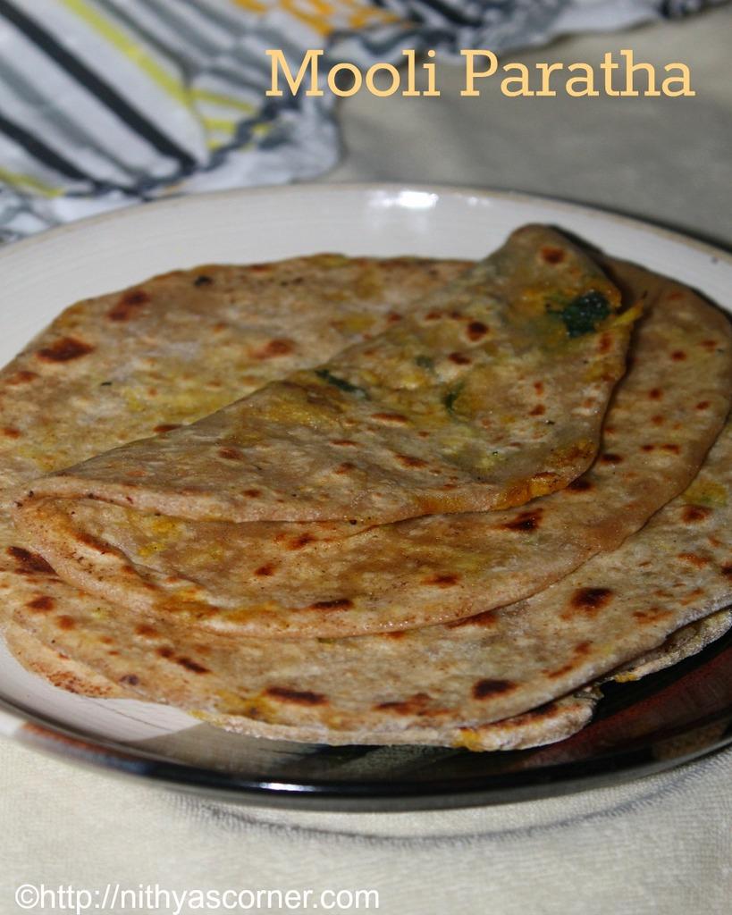 Mooli Paratha Recipe,Mooli Ka Paratha,Radish Paratha