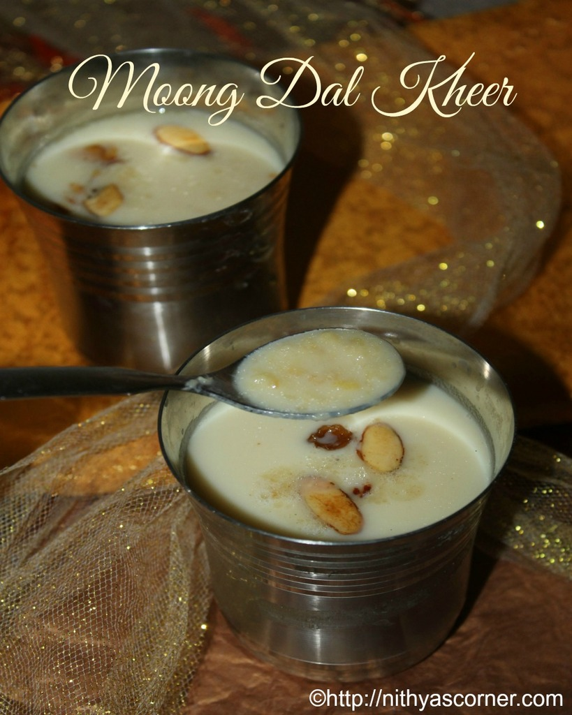 paruppu payasam with pictures