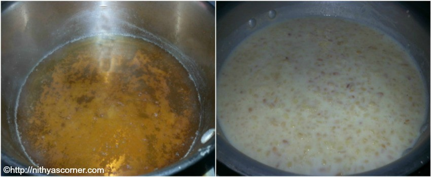 moong dal payasam with stepwise pictures