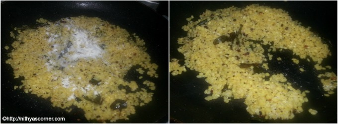 simple and easy moong dal sundal