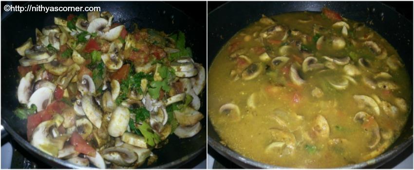 simple and easy mushroom biryani recipe