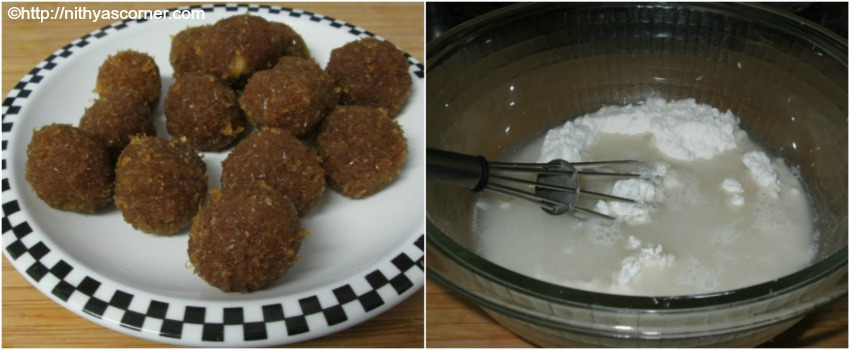 how to make coconut sweet balls