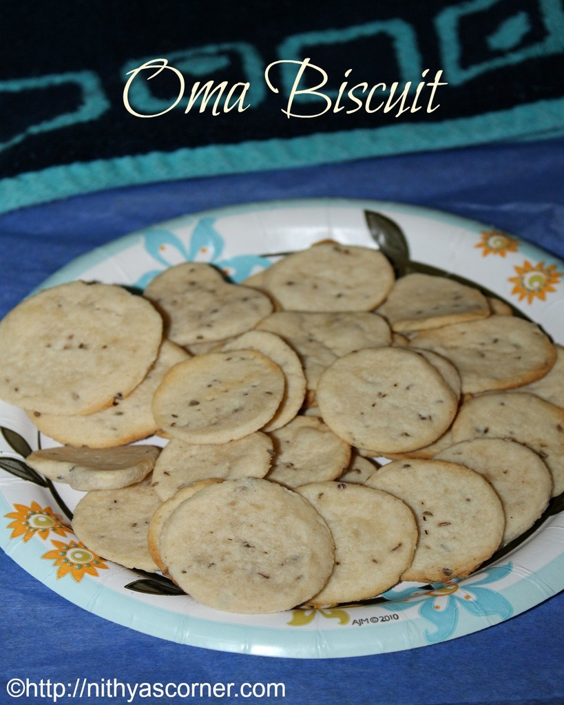 ajwain biscuit, homemade biscuits