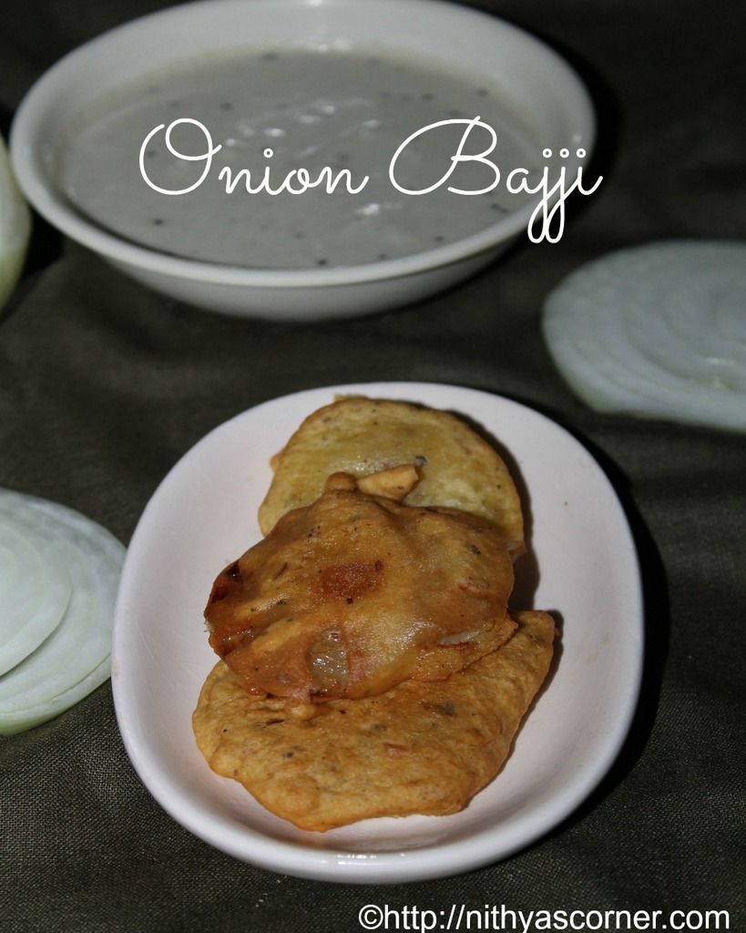 quick onion bajji recipe,onion bhajji recipe