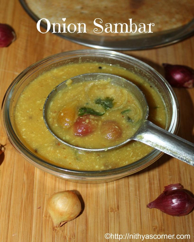 Onion sambar, vengaya sambar recipe, chinna ulli sambar recipe