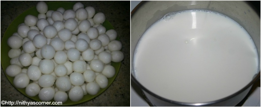 Paal kozhukattai recipe with coconut milk