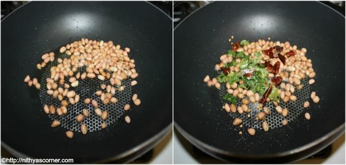 Peanut rice recipe, Verkadalai sadham
