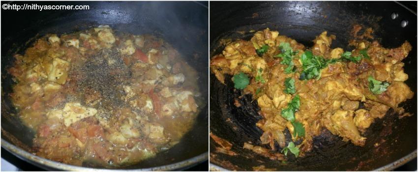 Pepper Chicken Recipe, Milagu Kozhi Varuval