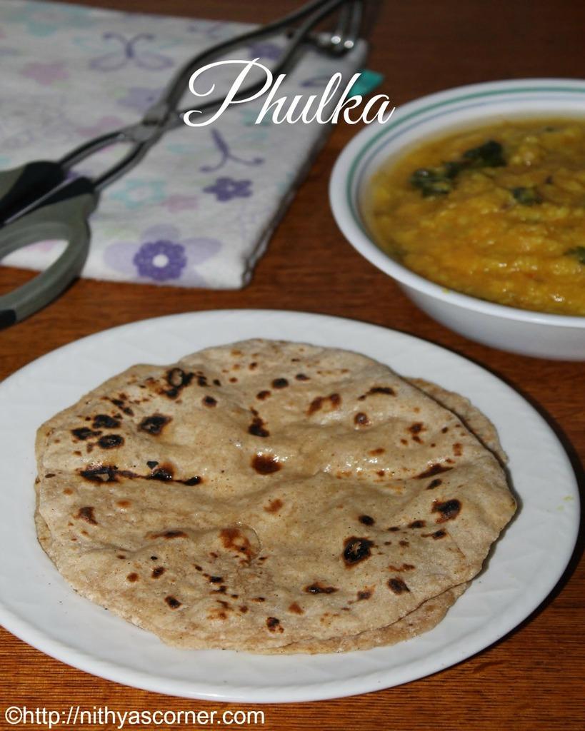 how to make phulka recipe