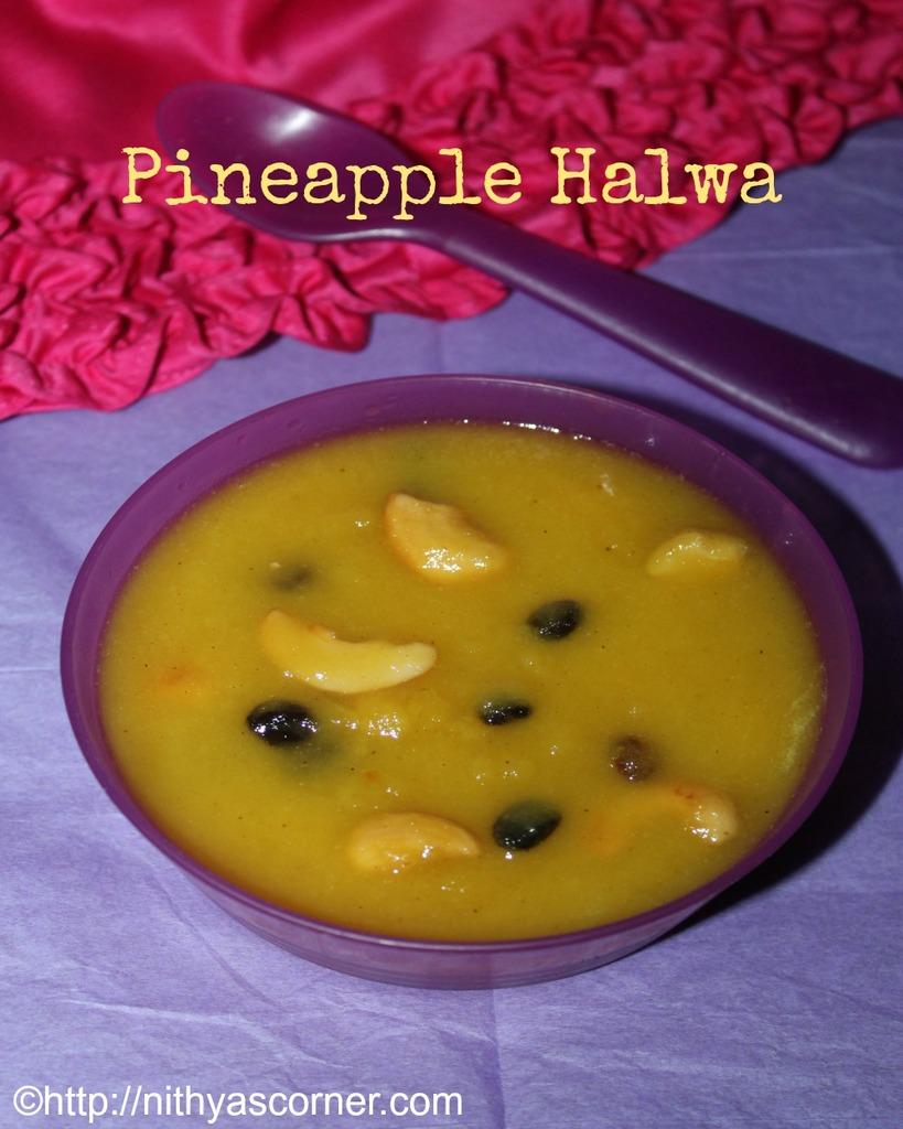 how to make pineapple halwa