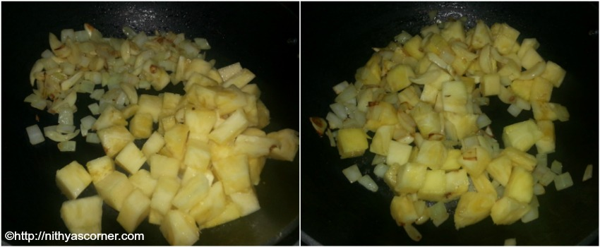 Pineapple rice recipe