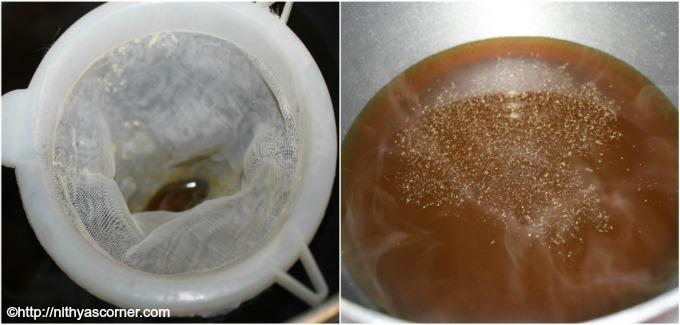 Pori urundai recipe, How to make pori urundai