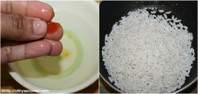 Pori urundai recipe with step by step pictures