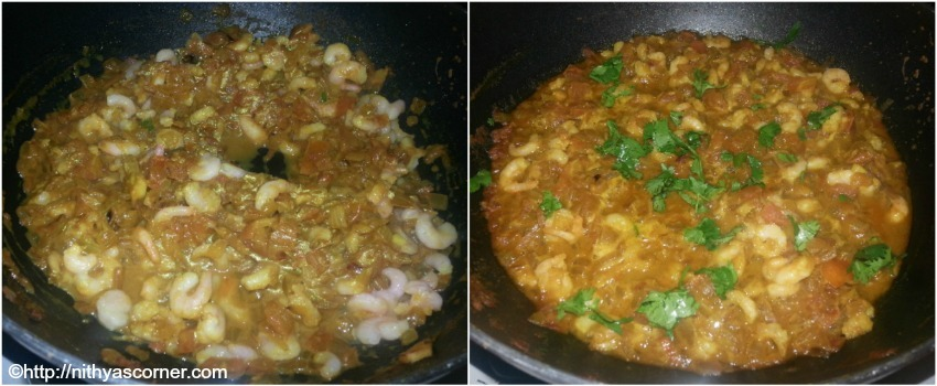 Prawn Tomato Masala, Shrimp Tomato Masala Recipe