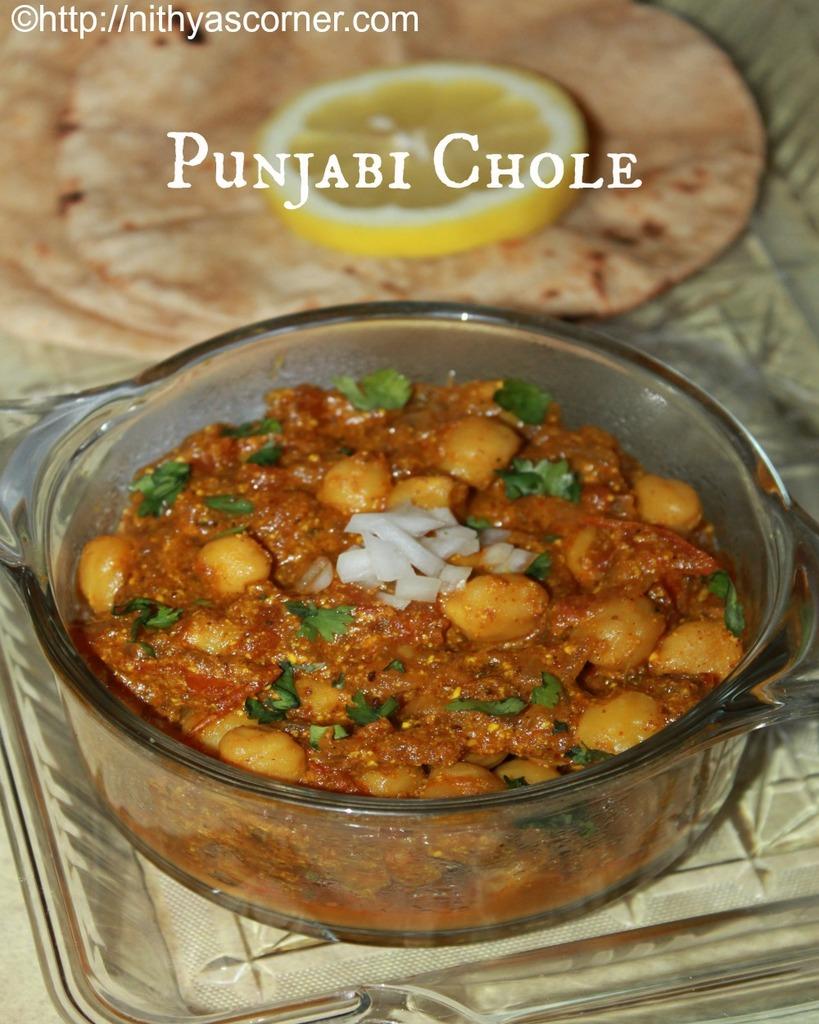 how to make chole,punjabi chana masala