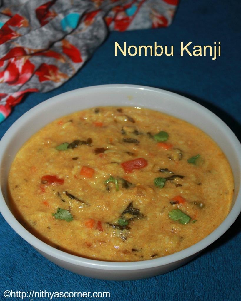 Ramadan Nombu Kanji Recipe