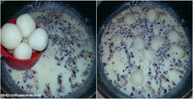 Rasmalai recipe with stepwise pictures