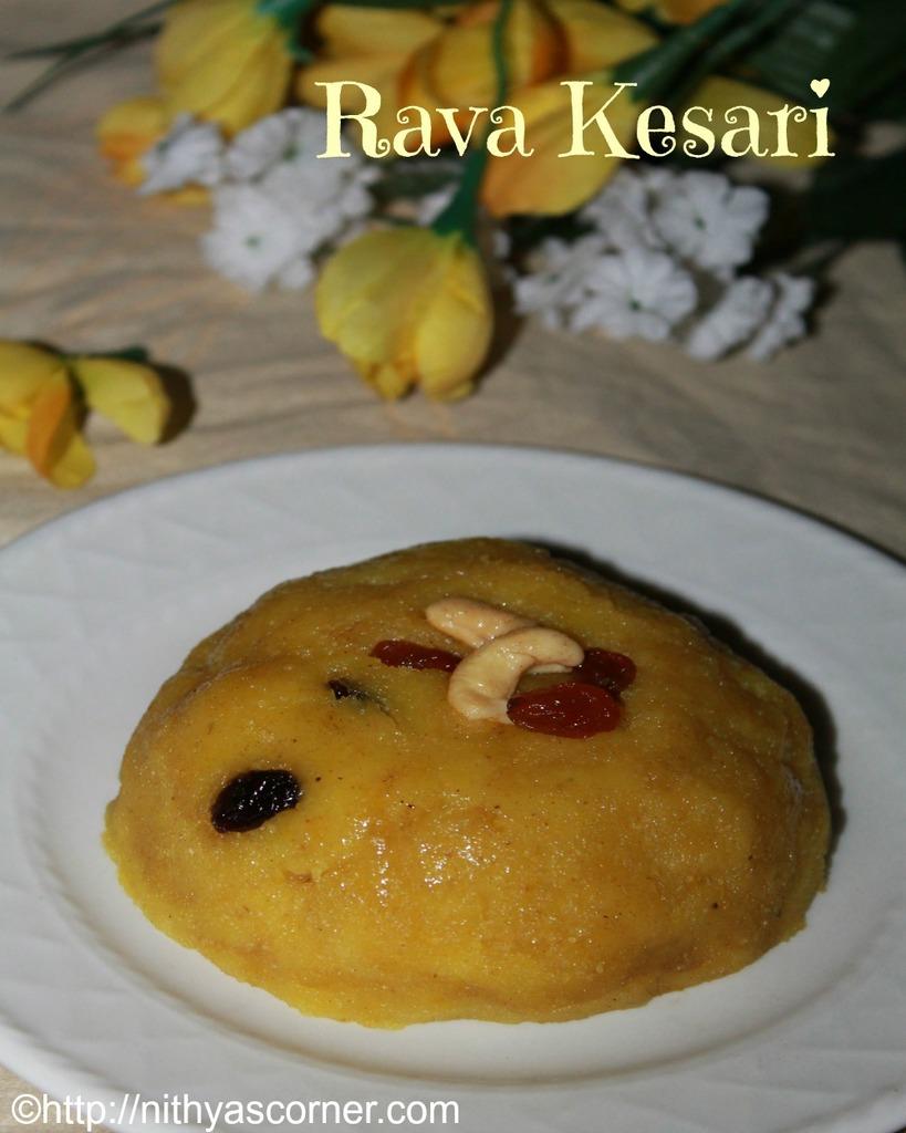 Rava Kesari Recipe, Sooji Kesari, Semolina Pudding