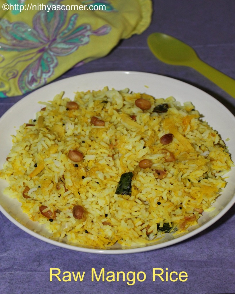 Raw Mango Rice, Mango Rice Recipe, Manga Sadam