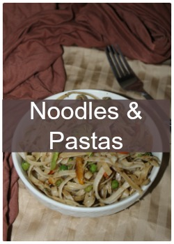 Learn to make simple and easy noodles and pasta recipes