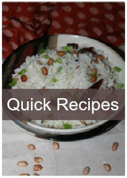 Learn to make simple, easy and quick recipes