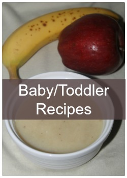 Learn to make easy and simple baby and toddler food