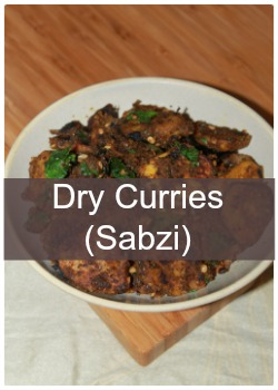 Learn to make Indian dry curries-sabzi,poriyal and varuval
