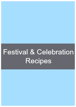 Learn to make simple and easy festival and celebration recipes