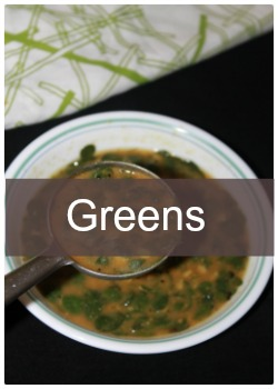 Learn to make simple and easy green recipes