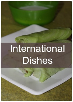 Learn to make simple and easy International dishes