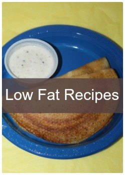 Learn to make simple and easy low fat recipes