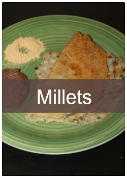 Learn to make simple and easy millet recipes