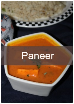 Learn to make simple and easy paneer based recipes