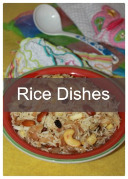 Learn to cook Indian rice varieties-biriyani,pulao,fried rice and mixed variety rice