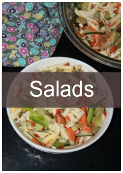 Learn to make simple and easy salad recipes